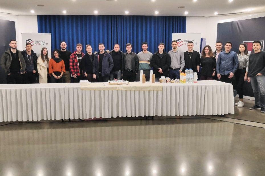 Τα μέλη του Finance Club UniPi
