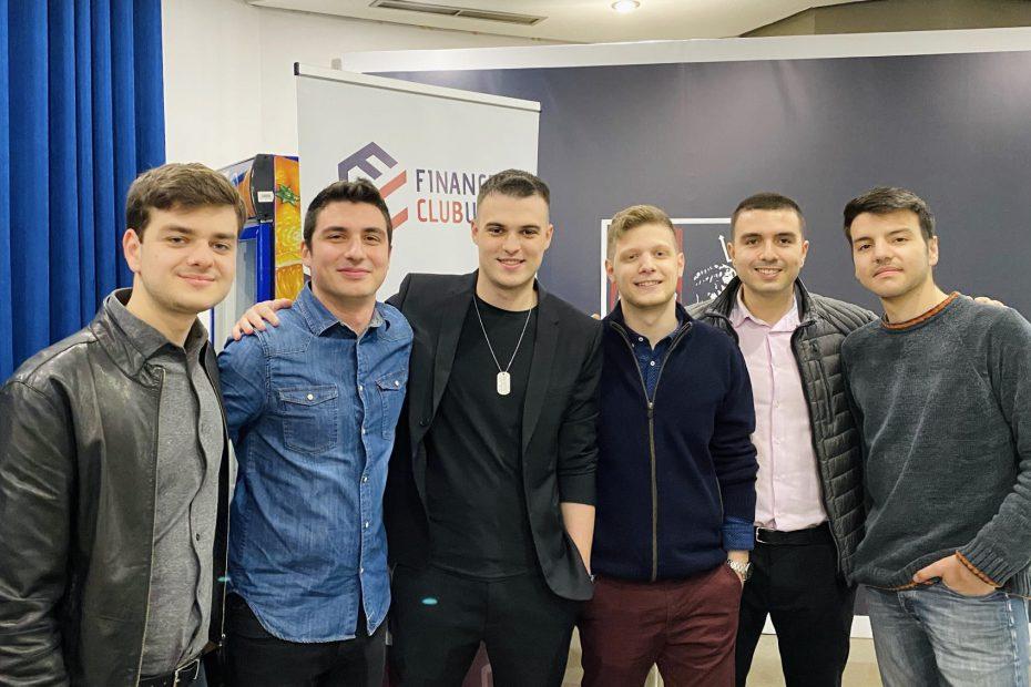 Μερικά από τα ιδρυτικά μέλη του Finance Club UniPi